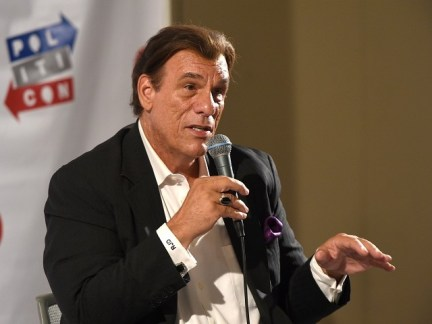 PASADENA, CA - JULY 29: Robert Davi at 'Spycast with Dr. Vince Houghton panel during Politicon at Pasadena Convention Center on July 29, 2017 in Pasadena, California. (Photo by Joshua Blanchard/Getty Images for Politicon)