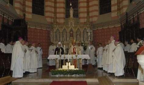 патријарх на миси