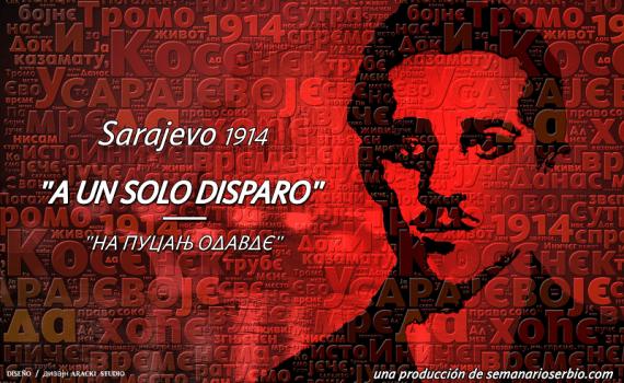 Gavrilo Princip - Na pucanj odavde