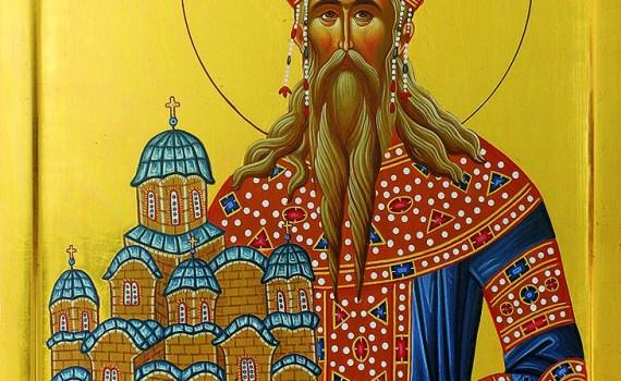 ikona Sveti kralj Milutin