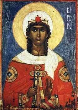 Sveta velikomučenica Varvara