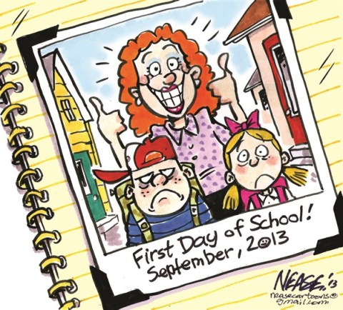 136971 600 First Day cartoons