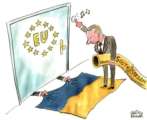 Christo Komarnitski - Bulgaria - Putin at the EU door - English - 		Putin,EU,Europe,Ukraine,South Stream,Russia,World
