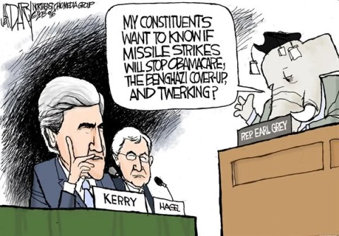 Jeff Darcy - The Cleveland Plain Dealer - Kerry grilled on Syria - English - Syria hearings, John Kerry