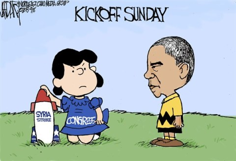 Jeff Darcy - The Cleveland Plain Dealer - Syria kickoff - English - Syria, Charlie Brown, Lucy