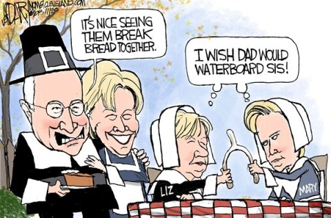 Jeff Darcy - The Cleveland Plain Dealer - Cheney sisters feud - English - Liz Cheney, Dick Cheney, Mary Cheney