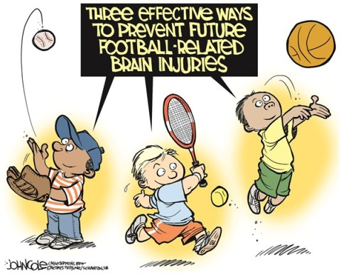 John Cole - The Scranton Times-Tribune - Football brain injuries COLOR - English - NFL, football, brain injuries, concussions, trauma, settlement, players