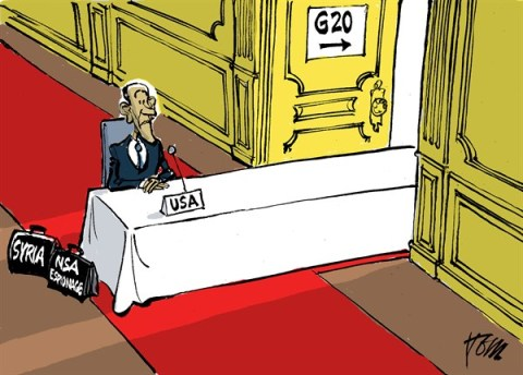 Tom Janssen - The Netherlands - G20 summit Petersburg - English - G20, Obama and Syria,
