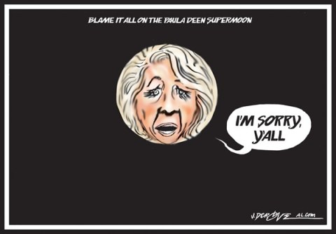 J.D. Crowe - Mobile Register - Paula Deen is sorry, y'all - English - Paula Deen, supermoon