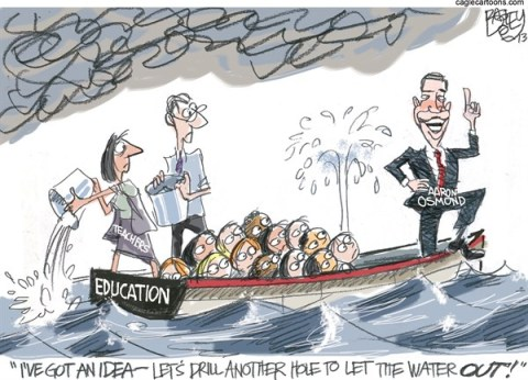 Pat Bagley - Salt Lake Tribune - LOCAL Compulsory Education - English - Education, Compulsory, Osmond, Aaron Osmond, Utah, Legislature