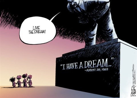 136610 600 I Have A Dream Anniversary cartoons