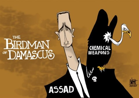 Randy Bish - Pittsburgh Tribune-Review - BIRDMAN OF DAMASCUS, COLOR - English - DAMASCUS, SYRIA, CHEMICAL WEAPONS, GAS, ASSAD, SYRIA