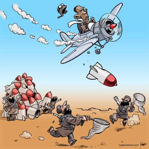 Hajo de Reijger - The Netherlands - precision bombing - English - precision bombing, strike, air strike, bomb, Syria, Obama, Barack Obama, plane, war, extremists, Al-qaeda, Taliban