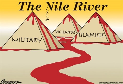 Steve Greenberg - Freelance, Los Angeles - The Vile River - English - Egypt,Nile,violence,bloodshed,Islamists,Muslim Brotherhood
