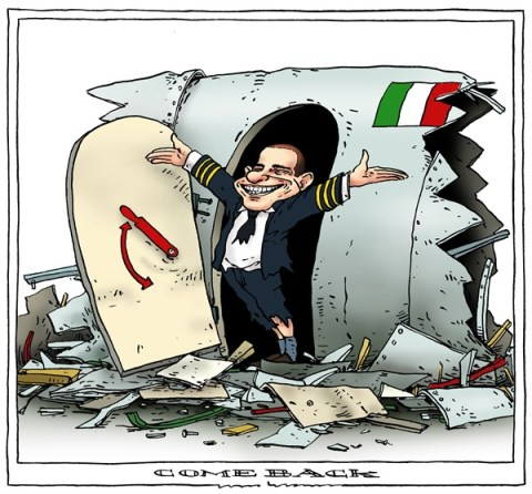 Joep Bertrams - The Netherlands - comeback - English - berlusconi, italy, comeback