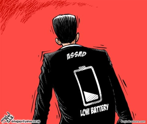 Osama Hajjaj - Abu Mahjoob Creative Productions - Assads Battery - English - assad,battery,low