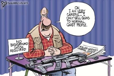 126258 600 Nice  Quiet People Buy Guns cartoons