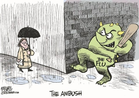 The Ambush © Marshall Ramsey,The Clarion Ledger, Jackson Mississippi,flu,deadly,sick,death,shot,deadly-flu