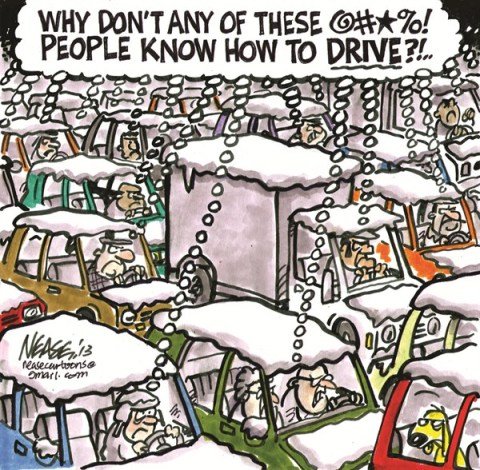 126794 600 Winter Drivers cartoons