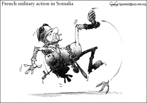 Action in Somalia © Fares Garabet,Syria,french,military,somalia