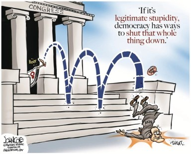 John Cole - The Scranton Times-Tribune - Todd Akin loses COLOR - English - todd akin, legitimate rape, missouri, congress, gop, tea party
