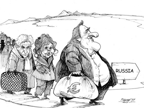 Petar Pismestrovic - Kleine Zeitung, Austria - Promised Land - English - Gerard Depardieu,Brigitte Bardot,Bernard Arnault Louis Vuitton France,Russia,Hollande,Tax,russian depardieu