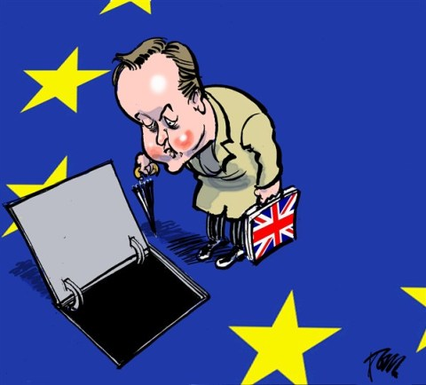 Tom Janssen - The Netherlands - Cameron and EU - English - Cameron and European Union, Great Brittain and European Union,
