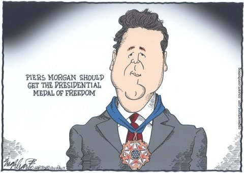 Bob Englehart - The Hartford Courant - Piers Morgan - English -