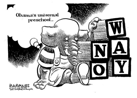 Jimmy Margulies - The Record of Hackensack, NJ - Obama Universal Preschool - English - Universal Preschool, Obama Universal Preschool proposal, Preschool education, Head Start, Education, Nursery school, Daycare, childhood education