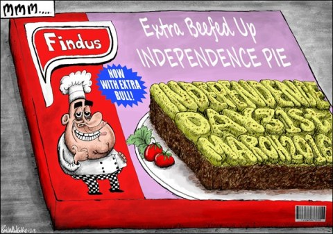 Brian Adcock - The Scotland - Britain's Horsemeat Scandal - English - UK, britain, scotland, salmond, alex salmond, horsemeat, horsemeat scandal, findus, independence pie, SNP,