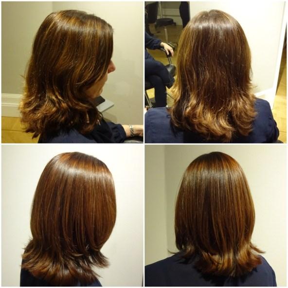 Koppar-mahogny ger håret så mycket glans!