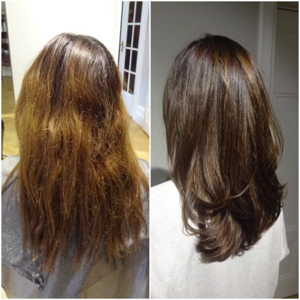 Ny lyster med en djupare hårfärg