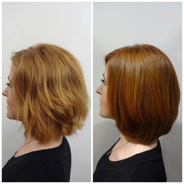 Här kommer Susannes hårfärg
