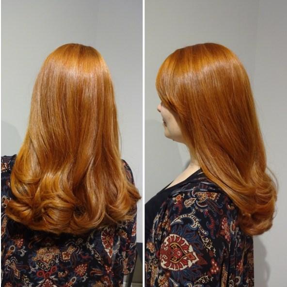Tobias flickvän Jamie har ofta synts på bloggen med sitt fantastiska hår...