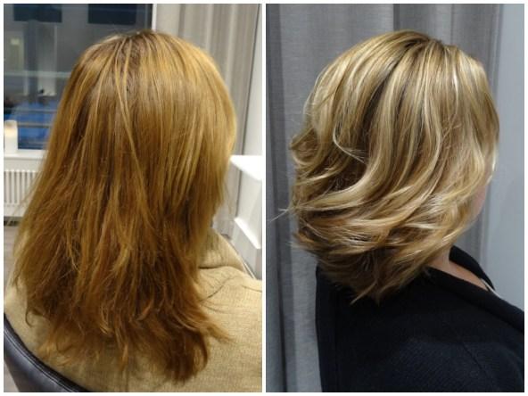 Att våga en ny hårfärg och frisyr...