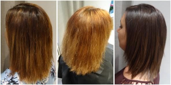 Hur avfärgar man ett hår?