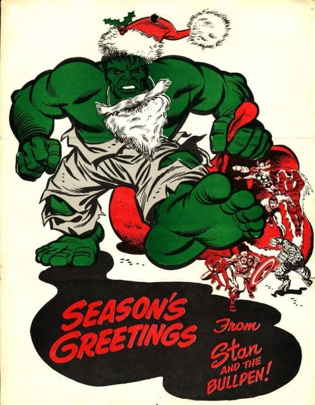 Marvel Holiday Greeting