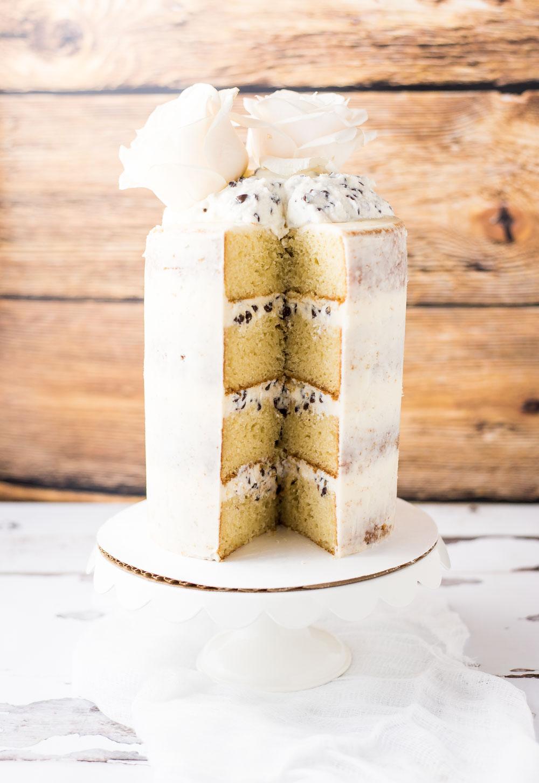 Mesmerizing Vanilla Cannoli Naked Cake Cannoli Cake Recipe Giada Cannoli Cake Recipe Snappy Gourmet Cannoli Cream Andfrosted Cannoli Naked Cake Is A Layered Vanilla Cake Filled nice food Cannoli Cake Recipe