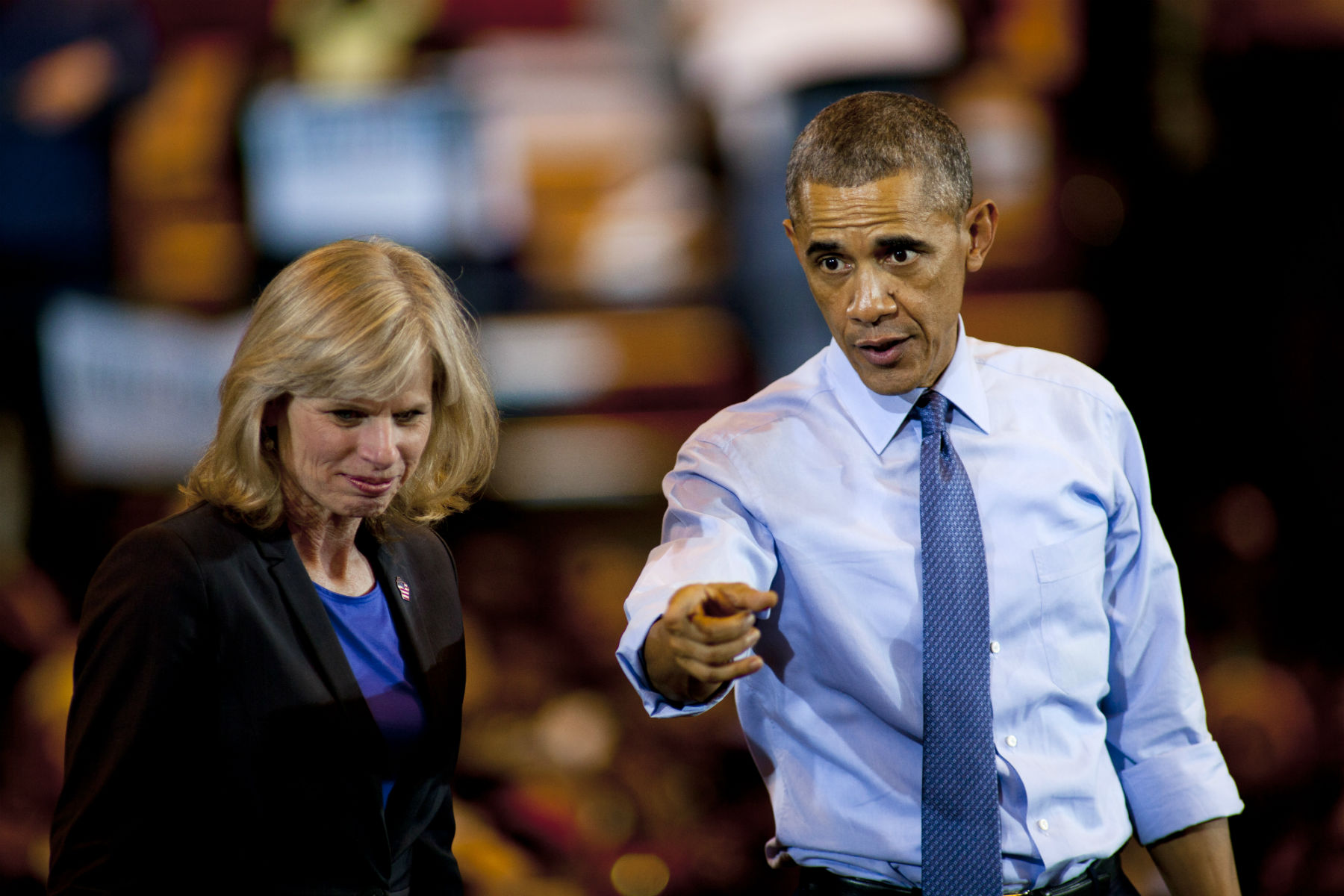 obama campaigning Obamas Midterm Loss Record Could Make History