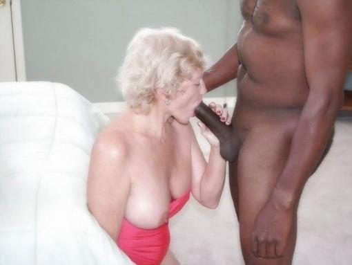 grandma sucking cock