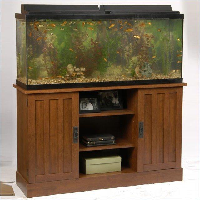 Details about Ameriwood 55 Gallon Aquarium Stand
