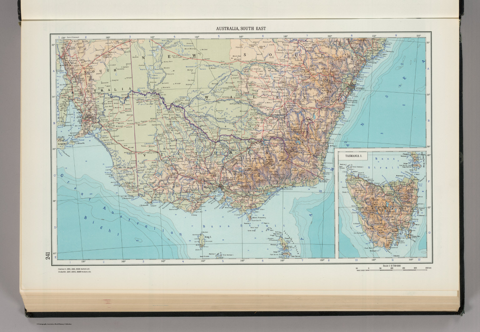 241  Australia  South East  Tasmania  The World Atlas    David     Tasmania  The World Atlas