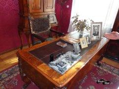 Biroul lui Goga - Muzeul Octavian Goga de la Ciucea, județul Cluj