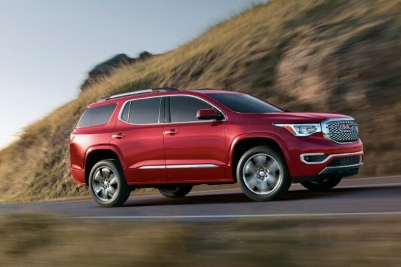 All New 2017 GMC Acadia SUV Unveiled  2016 Detroit Auto Show   Edmunds loading