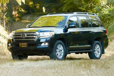 2017 Toyota Land Cruiser SUV Pricing & Features | Edmunds