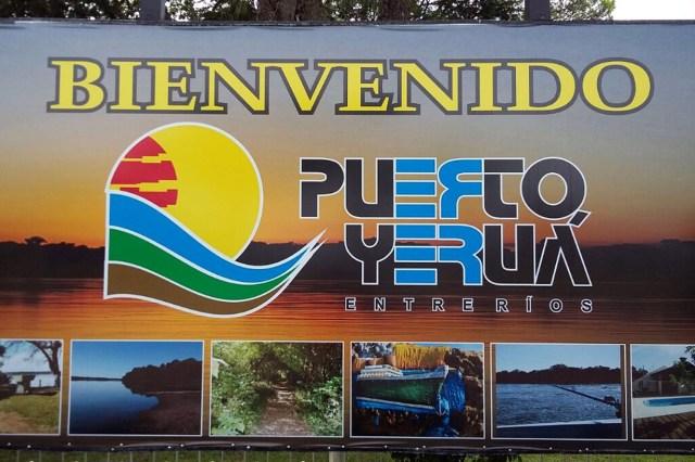 La bella Puerto Yeruá, el escenario de los hechos investigados
