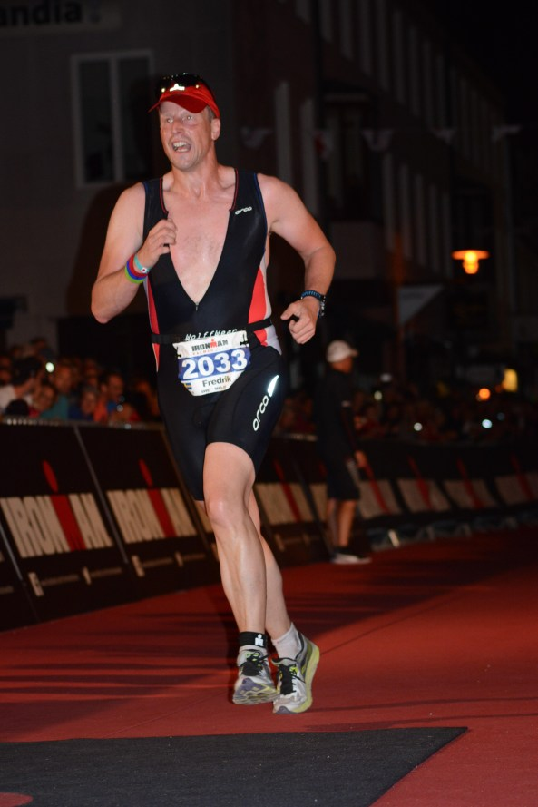 Fredrik Hjorth.. You are an Ironman!