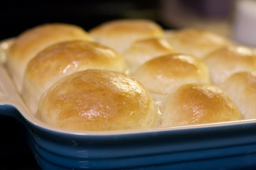 Sixty-Minute Dinner Rolls