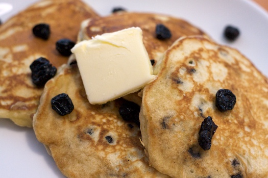 Blueberry & Lemon Pancakes