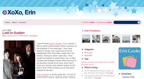 Visit XoXoErin.com